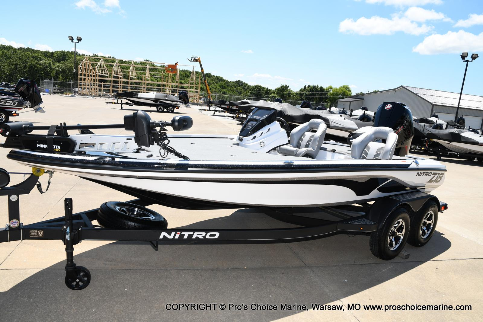 2021 Nitro boat for sale, model of the boat is Z18 Pro Package & Image # 16 of 50