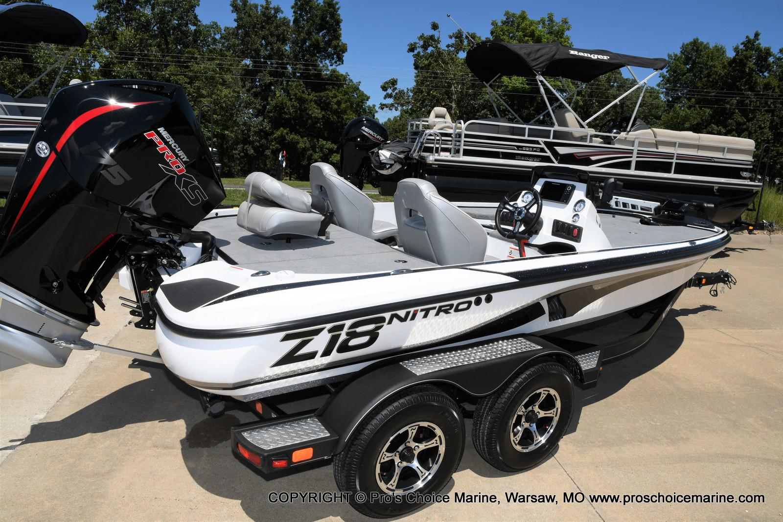 2021 Nitro boat for sale, model of the boat is Z18 Pro Package & Image # 2 of 50