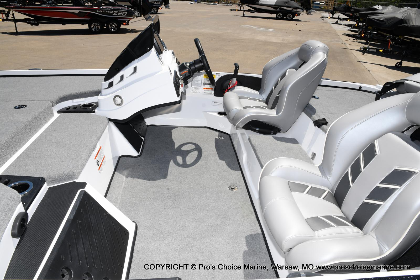 2021 Nitro boat for sale, model of the boat is Z18 Pro Package & Image # 21 of 50