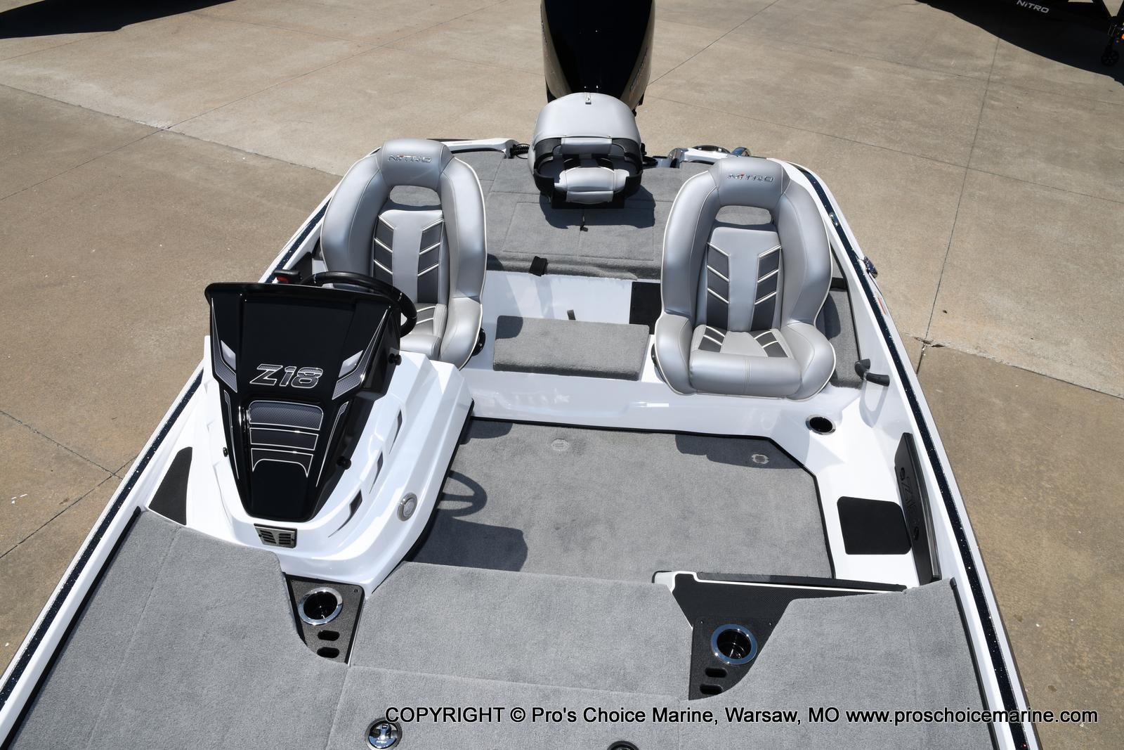 2021 Nitro boat for sale, model of the boat is Z18 Pro Package & Image # 36 of 50