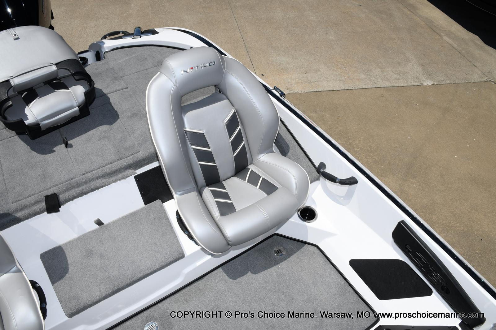 2021 Nitro boat for sale, model of the boat is Z18 Pro Package & Image # 37 of 50