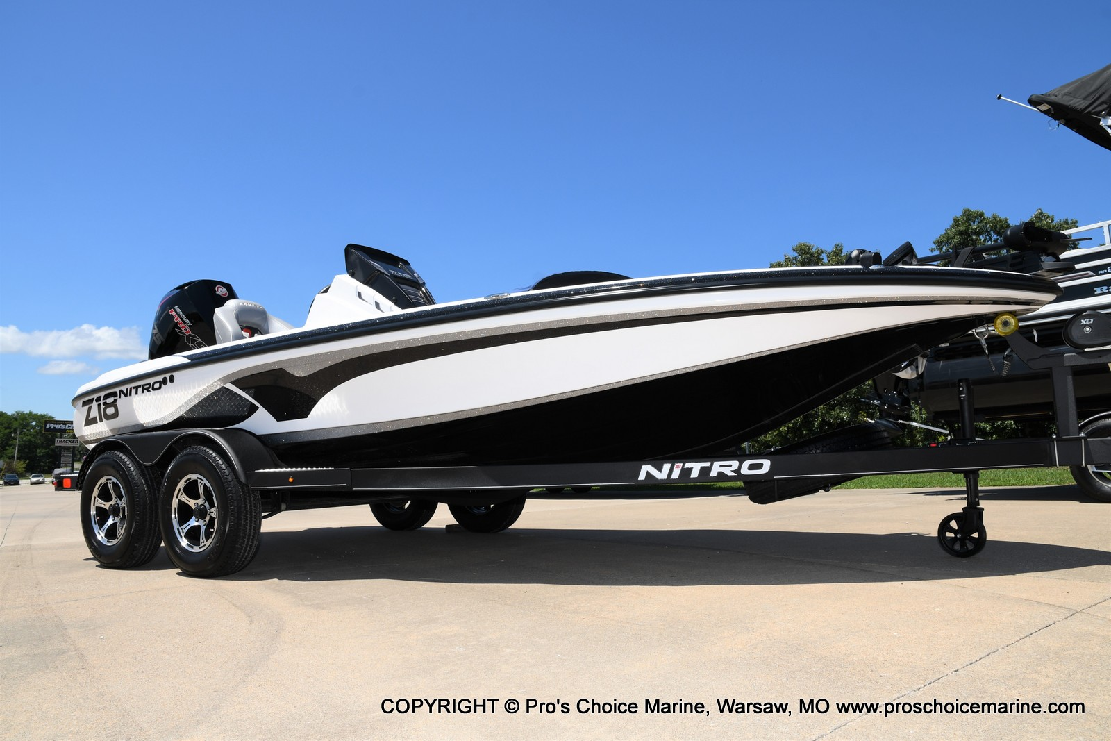2021 Nitro boat for sale, model of the boat is Z18 Pro Package & Image # 50 of 50
