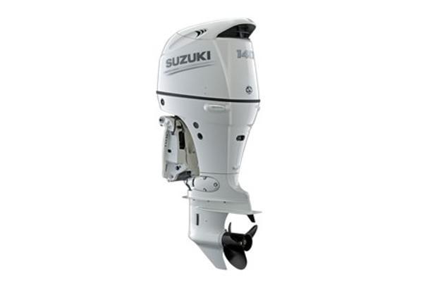 2021 SUZUKI 140 HP 4-stroke 25 inch shaft White or Black image