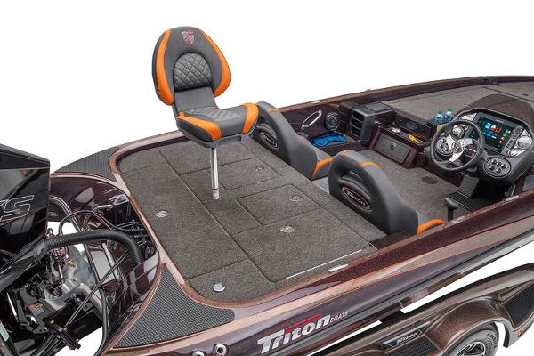 2021 Triton boat for sale, model of the boat is 21 TRX Patriot & Image # 13 of 19