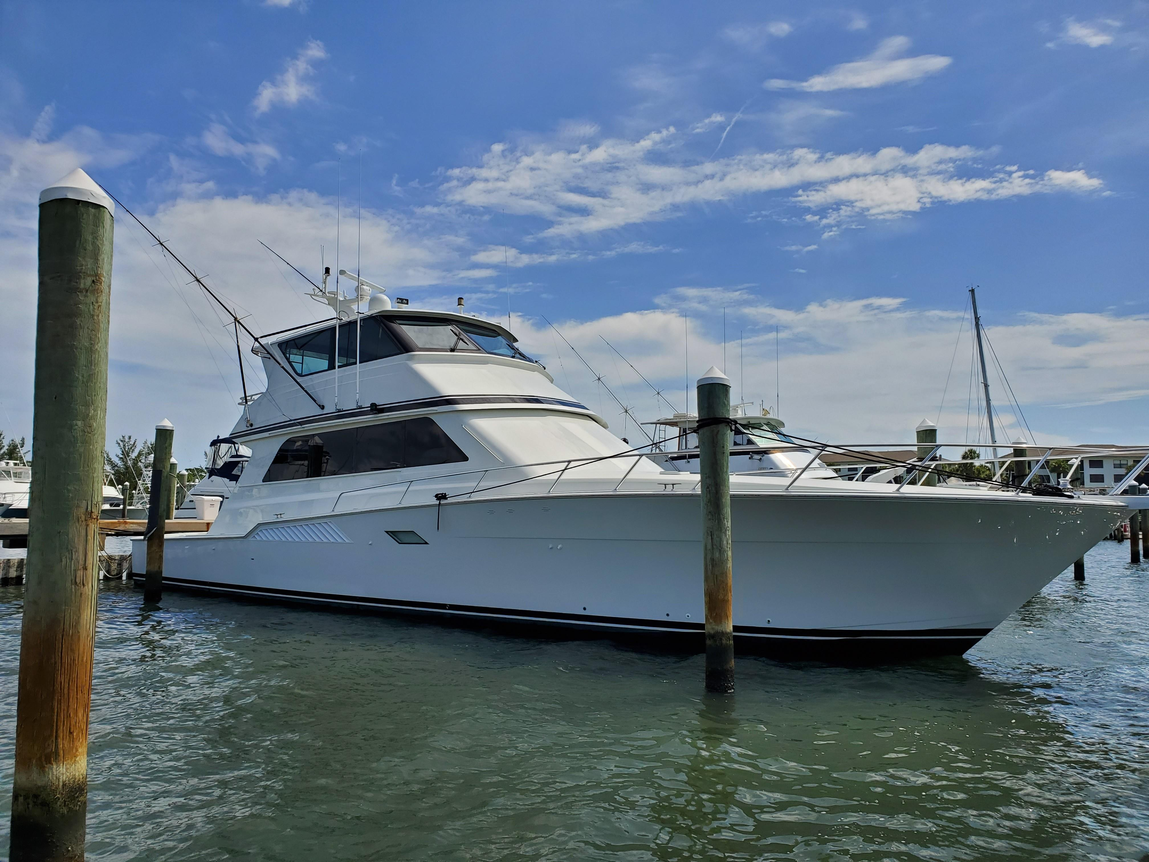 Picture Of:  72' Viking 72 Enclosed Bridge 1997Yacht For Sale   36