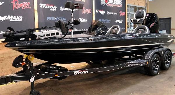 2021 Triton boat for sale, model of the boat is 189 TRX & Image # 13 of 19