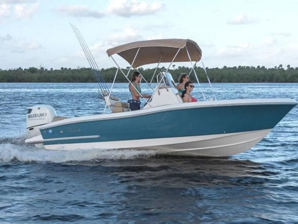 2021 Pioneer boat for sale, model of the boat is ISLANDER 202 & Image # 1 of 5