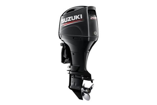 2021 SUZUKI 200 HP 4-stroke 25 inch shaft White or Black image