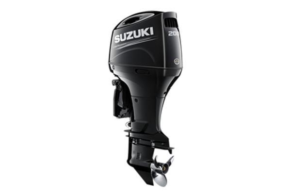 2021 SUZUKI 200 HP 4-stroke 20 inch shaft White or Black image