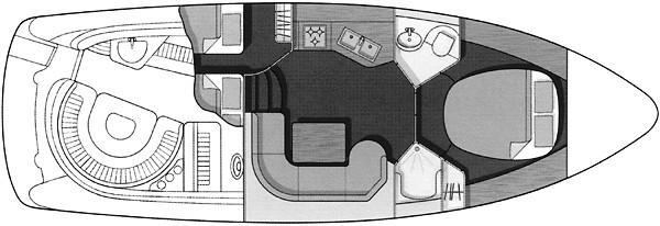 Manufacturer Provided Image: S37 - cabin arrangement