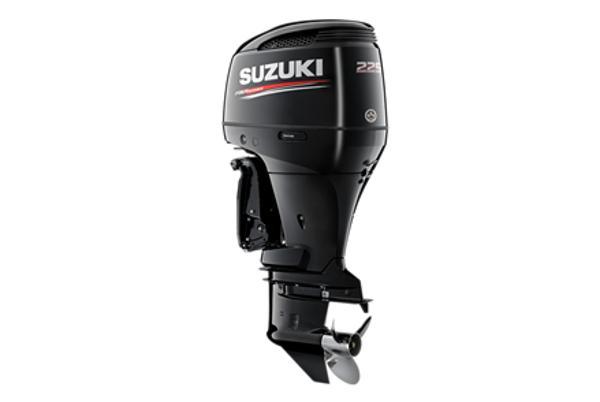 2021 SUZUKI 225 HP 4-stroke 25 inch shaft White or Black image