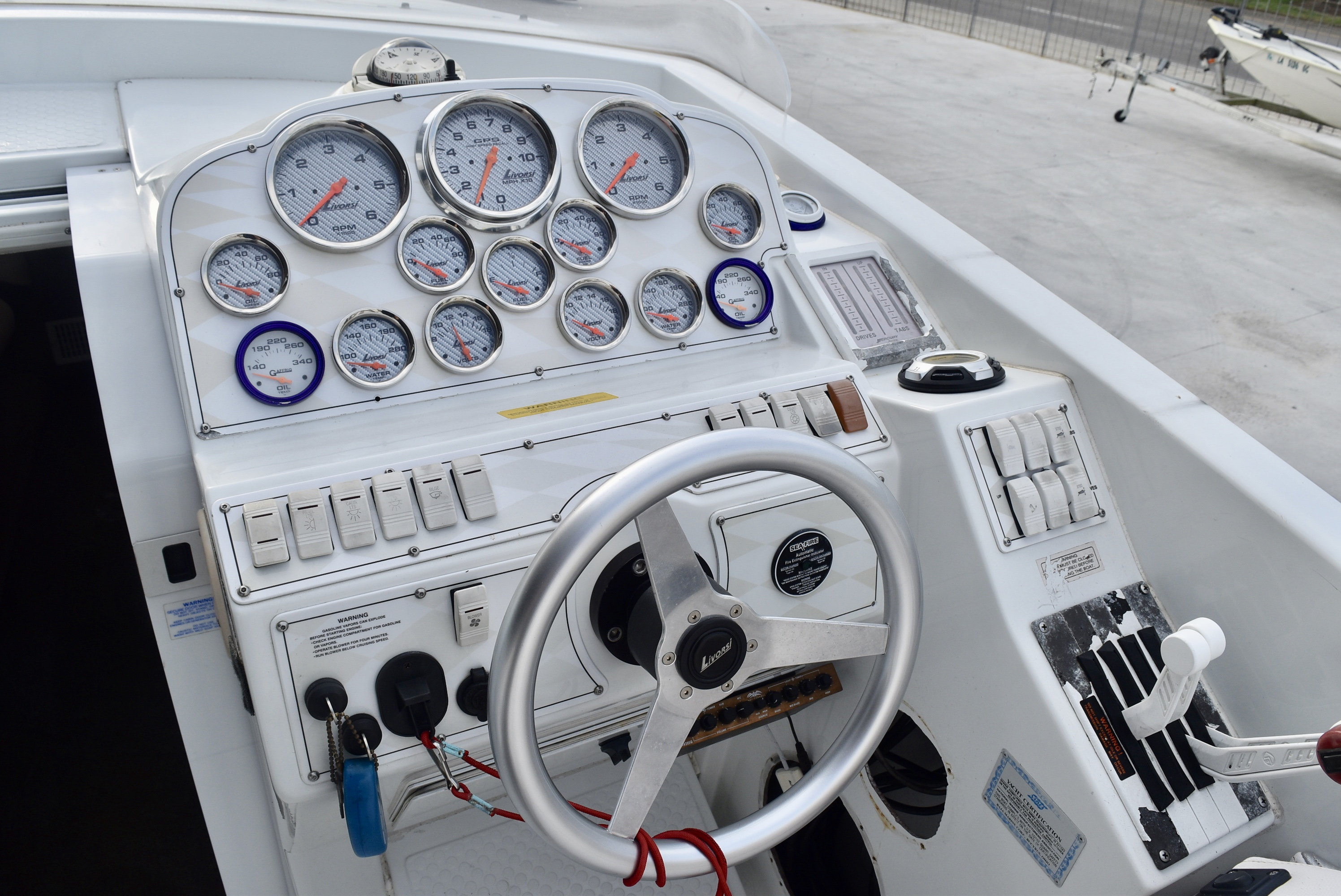 2001 Baja boat for sale, model of the boat is 36 & Image # 6 of 8