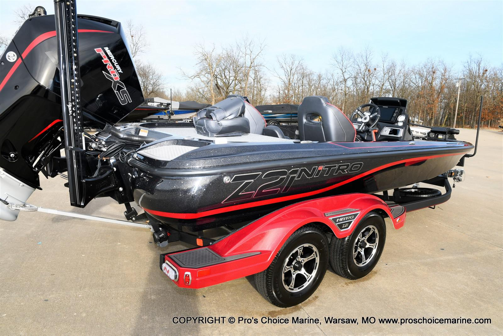 2021 Nitro boat for sale, model of the boat is Z21 Pro Package & Image # 11 of 50