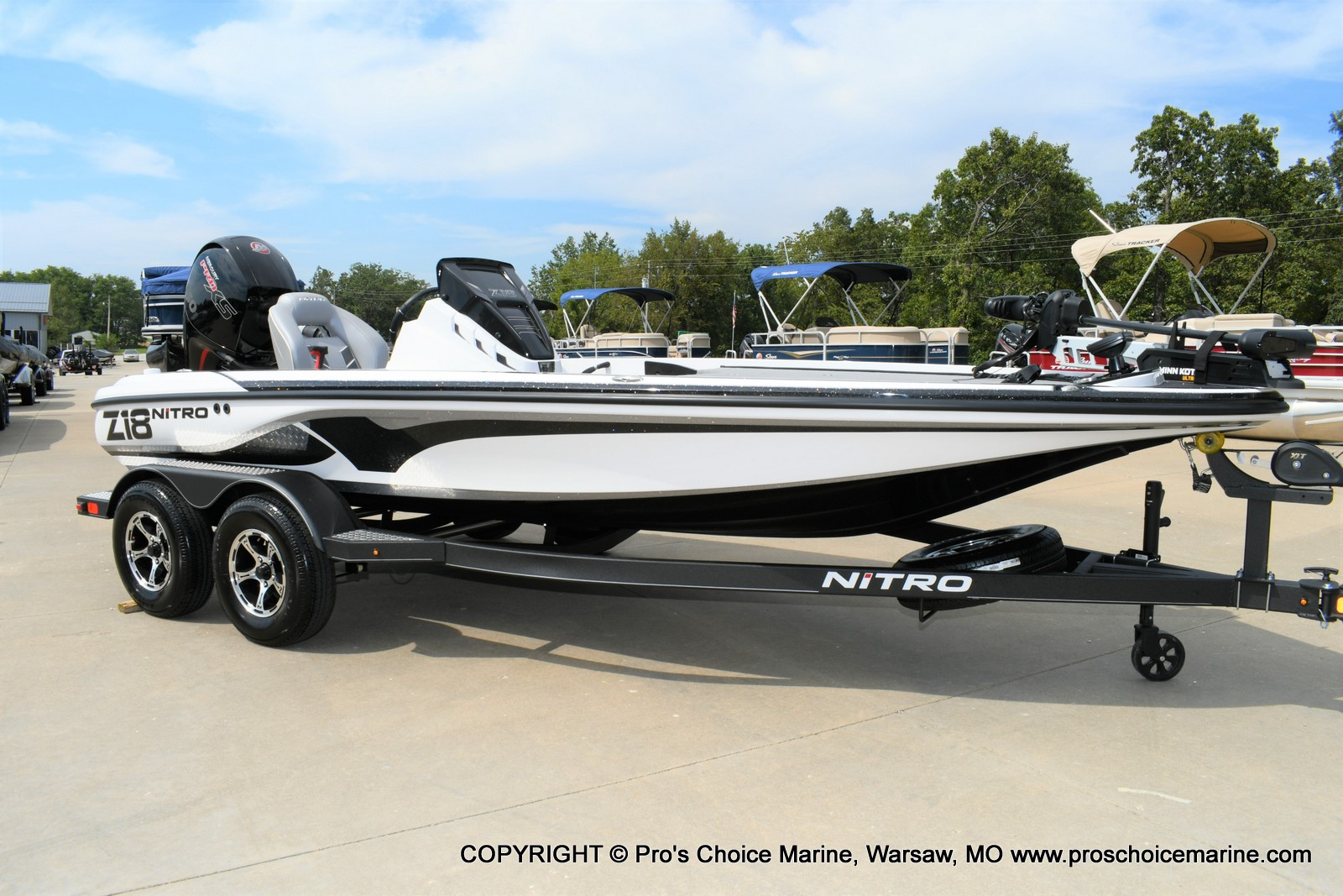 2021 Nitro boat for sale, model of the boat is Z18 Pro Package w/150HP Pro-XS & Image # 1 of 50