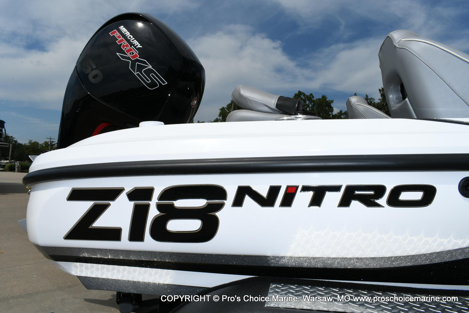 2021 Nitro boat for sale, model of the boat is Z18 Pro Package w/150HP Pro-XS & Image # 11 of 50