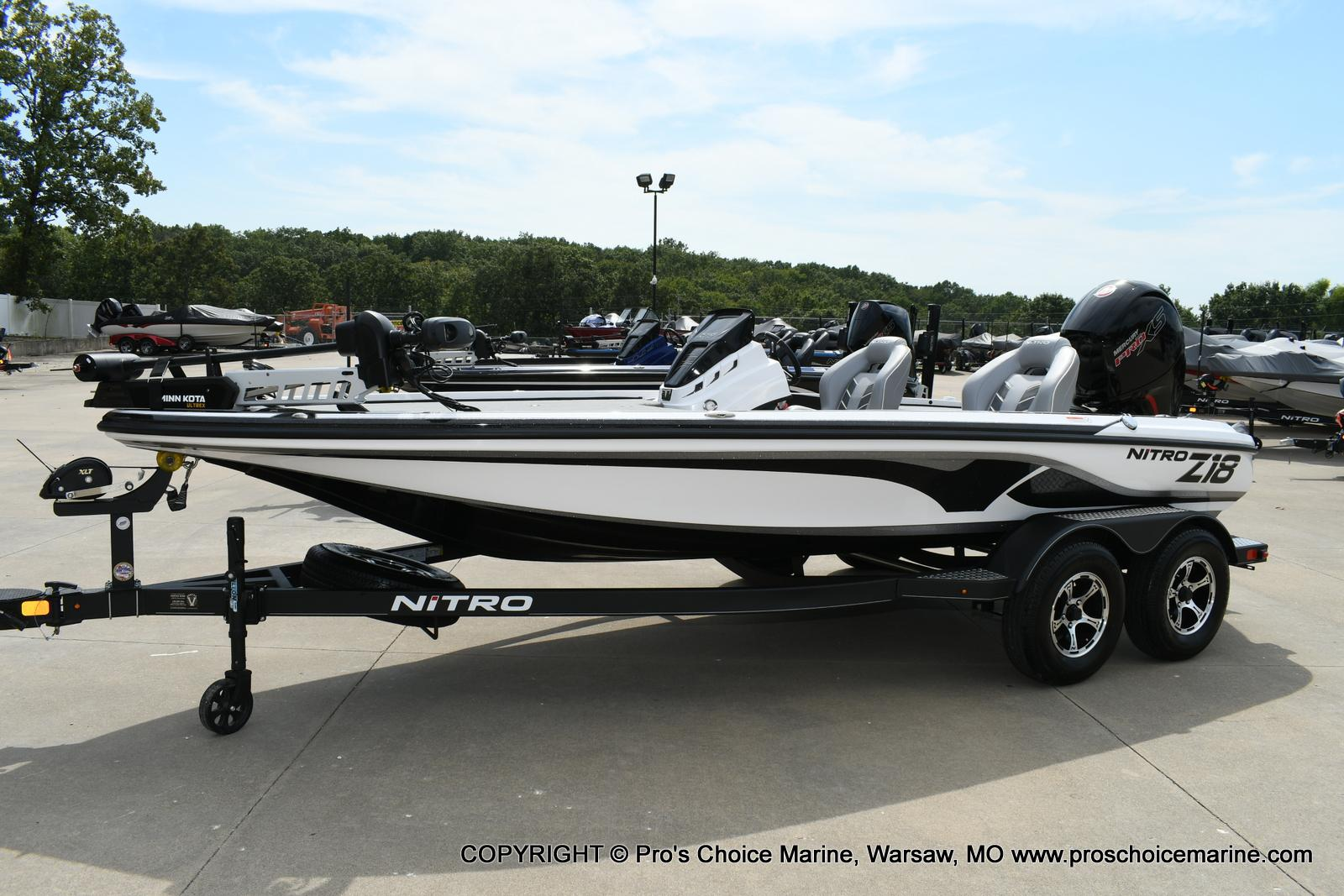 2021 Nitro boat for sale, model of the boat is Z18 Pro Package w/150HP Pro-XS & Image # 13 of 50