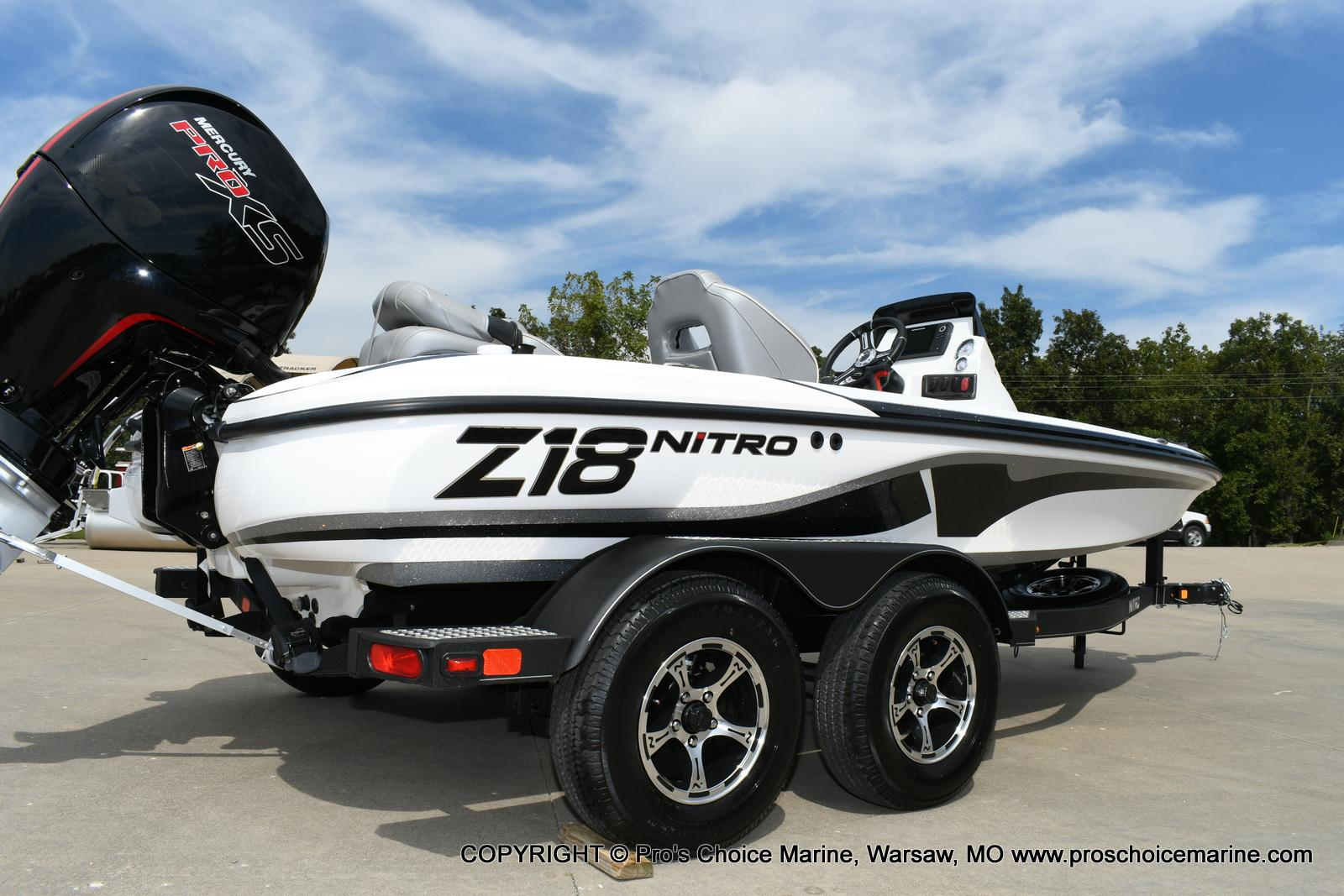 2021 Nitro boat for sale, model of the boat is Z18 Pro Package w/150HP Pro-XS & Image # 22 of 50