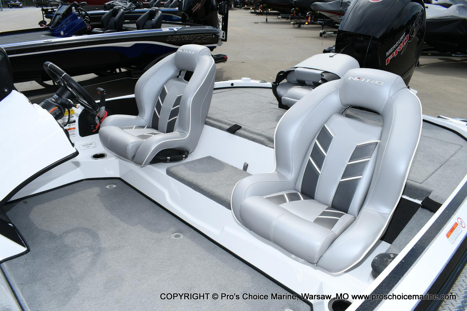 2021 Nitro boat for sale, model of the boat is Z18 Pro Package w/150HP Pro-XS & Image # 32 of 50