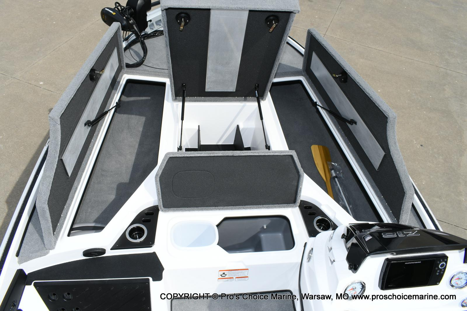 2021 Nitro boat for sale, model of the boat is Z18 Pro Package w/150HP Pro-XS & Image # 36 of 50