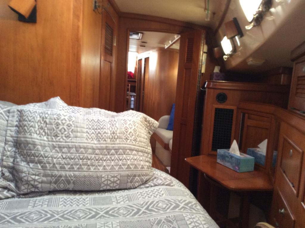 Dressing table/vanity in master cabin