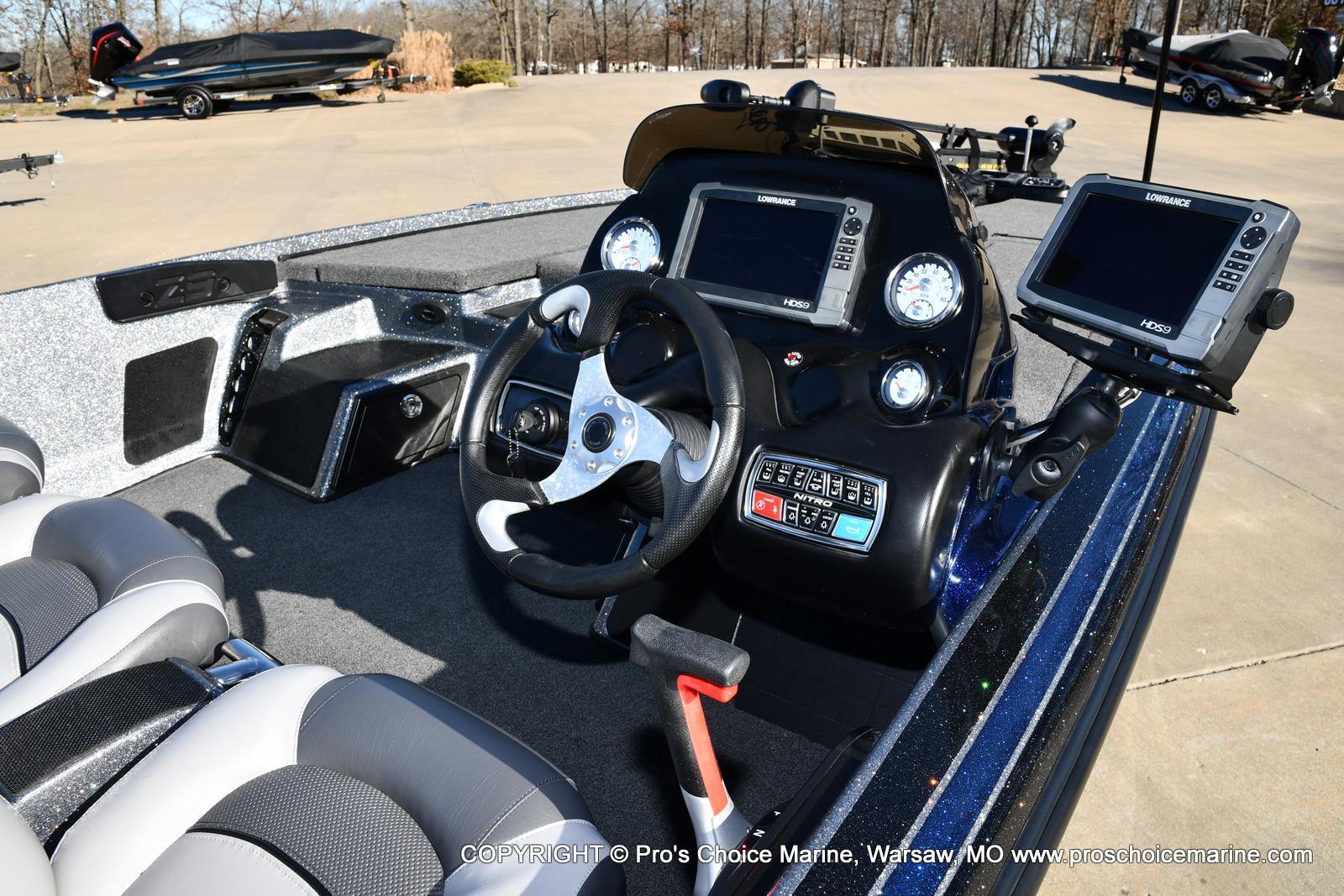 2015 Nitro boat for sale, model of the boat is Z-9 w/250HP Mercury Pro-XS & Image # 10 of 50