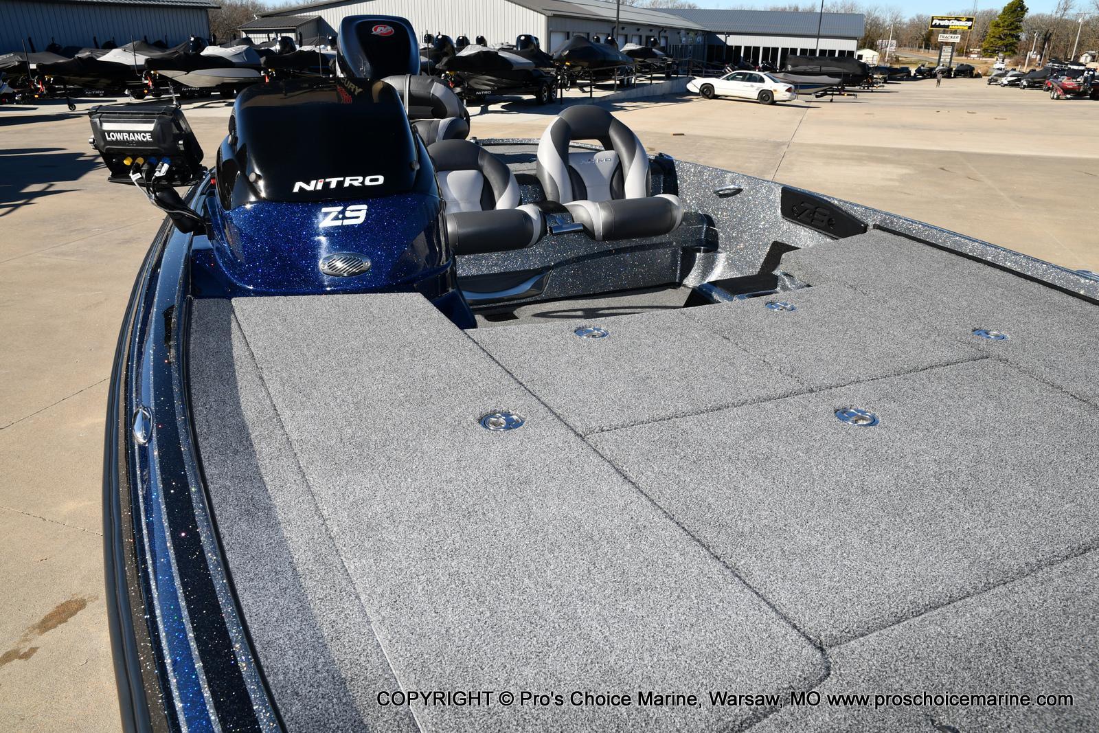 2015 Nitro boat for sale, model of the boat is Z-9 w/250HP Mercury Pro-XS & Image # 27 of 50