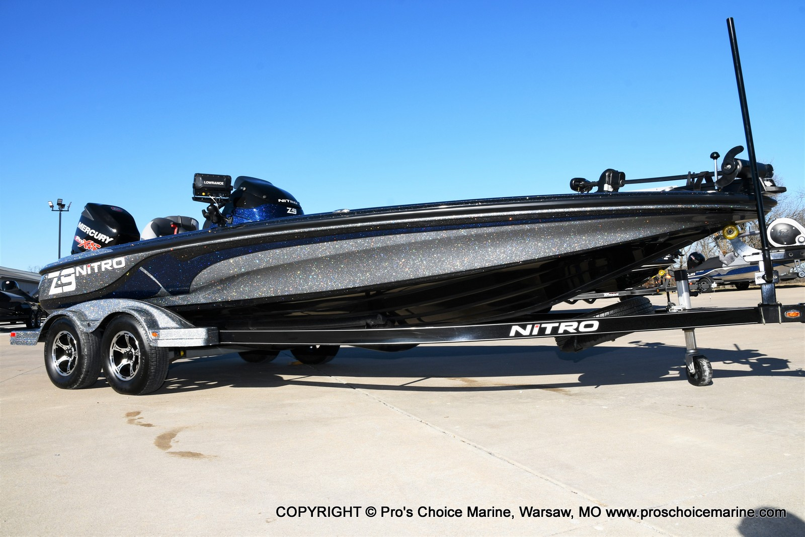 2015 Nitro boat for sale, model of the boat is Z-9 w/250HP Mercury Pro-XS & Image # 1 of 50
