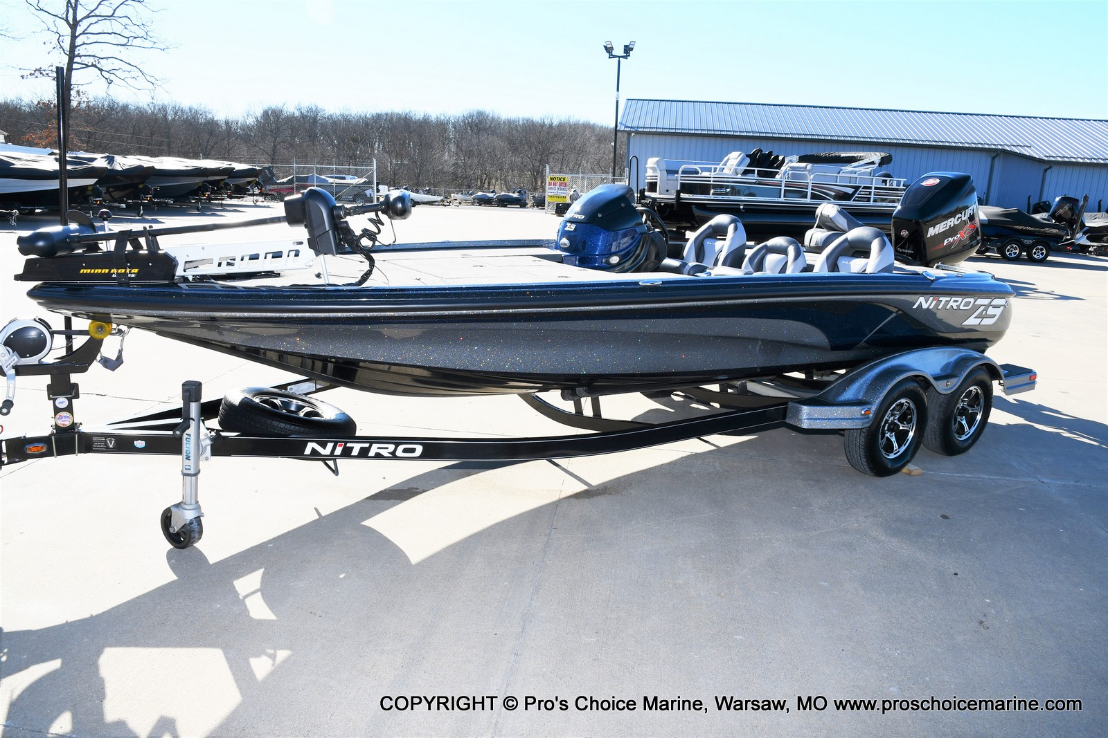 2015 Nitro boat for sale, model of the boat is Z-9 w/250HP Mercury Pro-XS & Image # 25 of 50