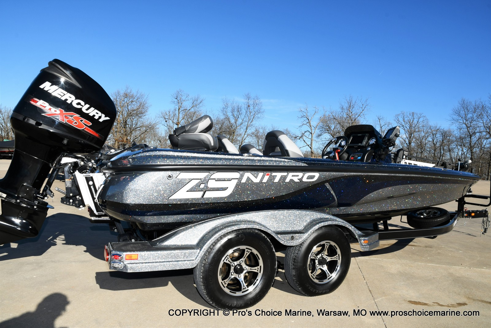 2015 Nitro boat for sale, model of the boat is Z-9 w/250HP Mercury Pro-XS & Image # 49 of 50