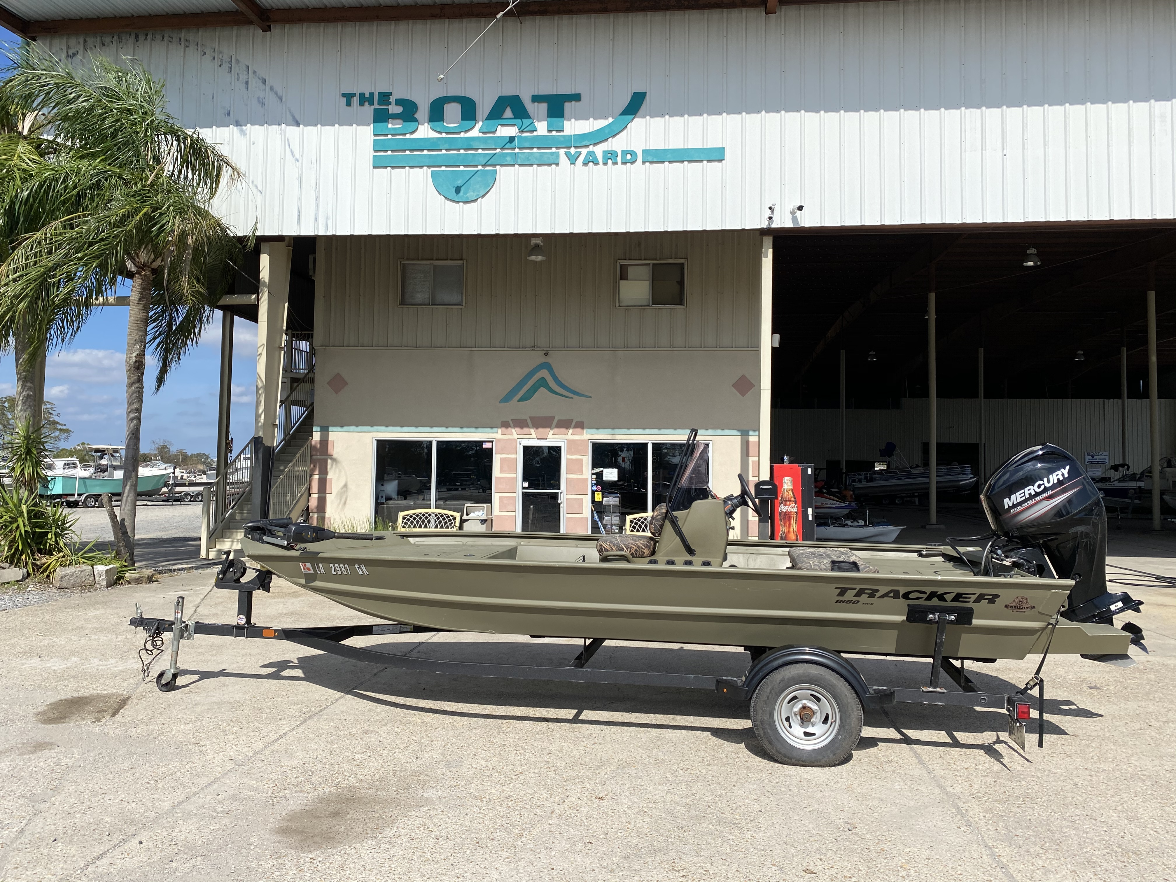 2019 TRACKER BOATS GRIZZLY 1860 for sale