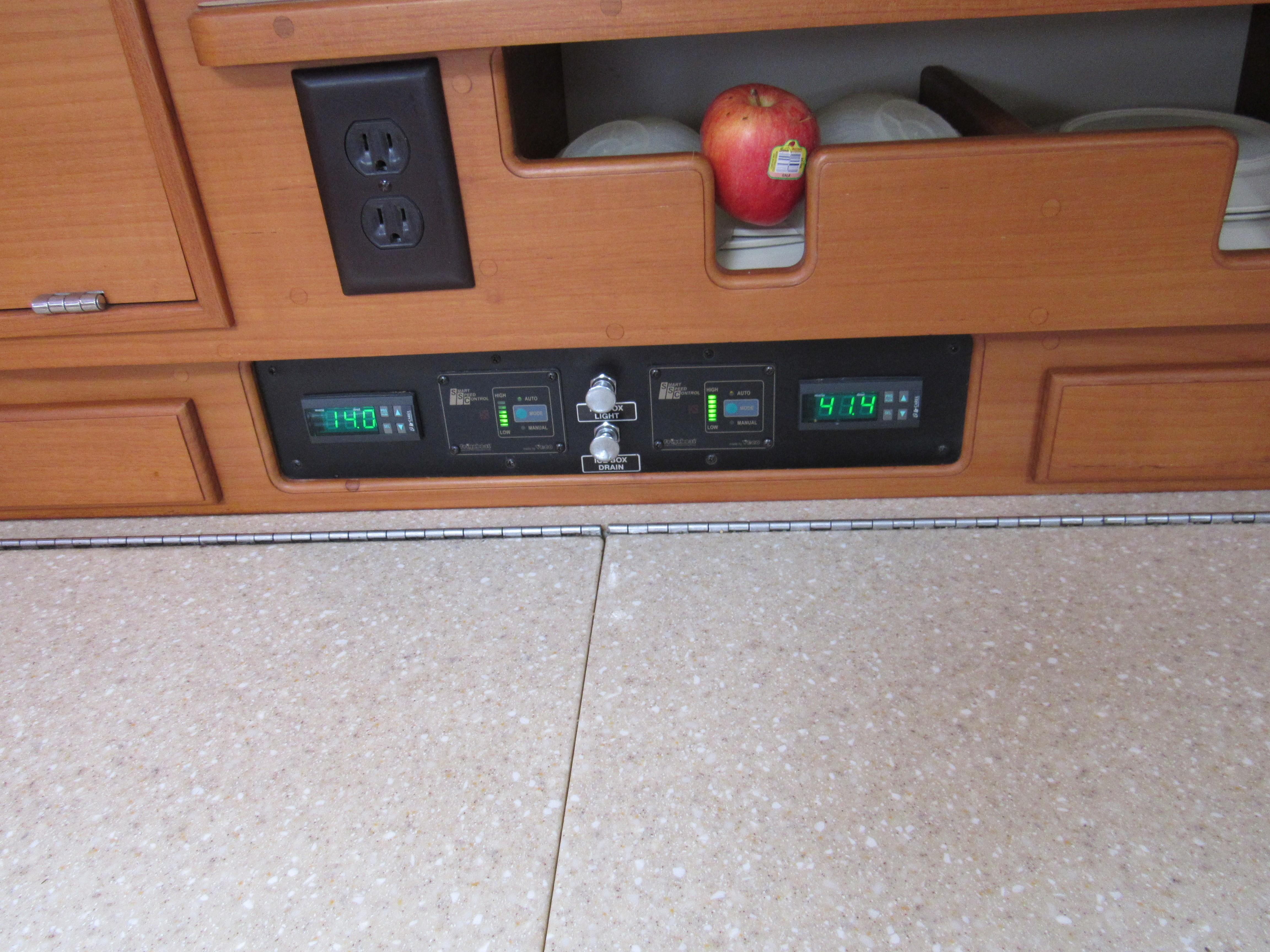 Digital refrigeration controls