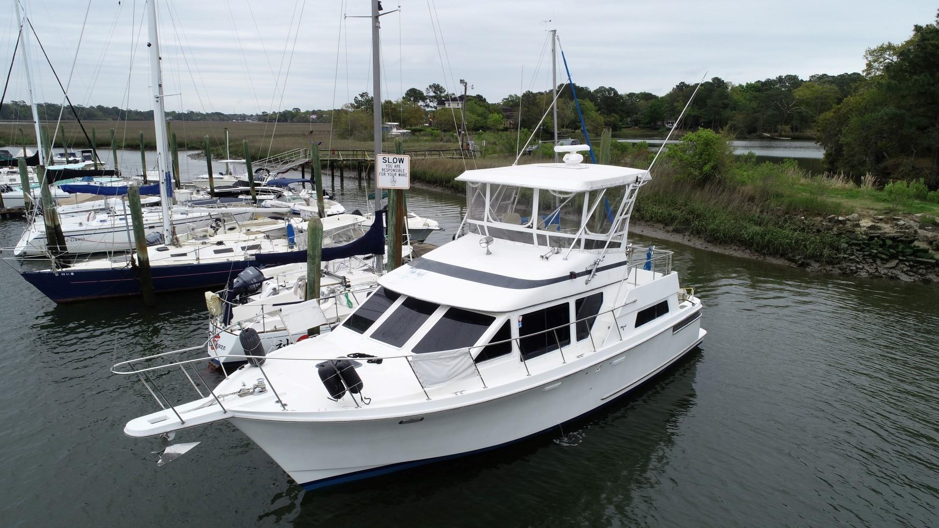 1991 Tollycraft Sport Yacht 39