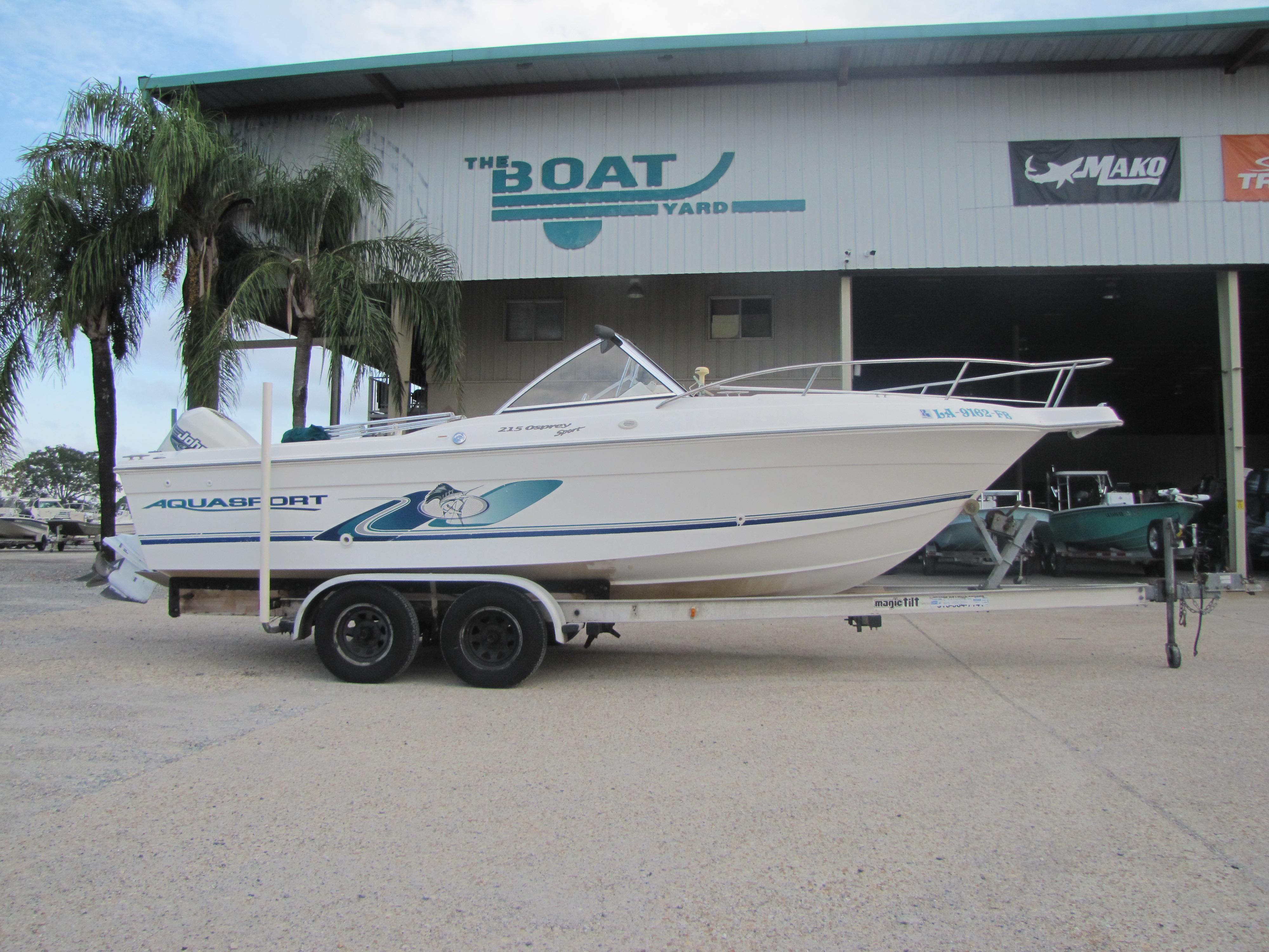2000 Aquasport 215 Osprey Sport