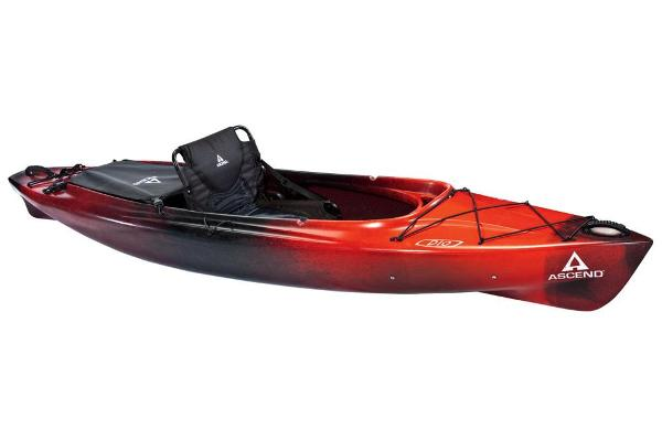 2018 Ascend boat for sale, model of the boat is D10 Sit-In (Red/Black) & Image # 1 of 8