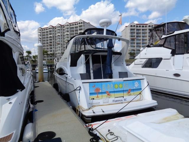 Carver Three Fifty Mariner - Aft To Port