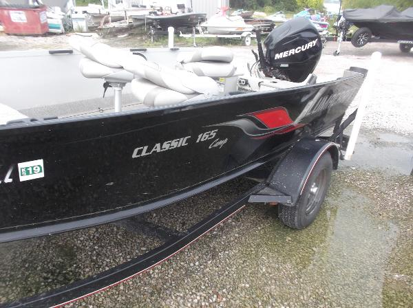 2010 Alumacraft boat for sale, model of the boat is 165 Classic camp & Image # 6 of 14