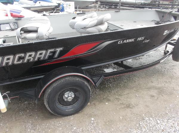 2010 Alumacraft boat for sale, model of the boat is 165 Classic camp & Image # 13 of 14