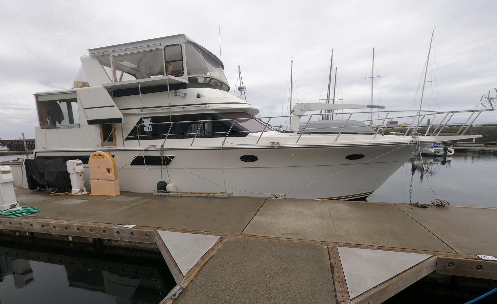 1990 Californian 52 Cockpit Motor Yacht