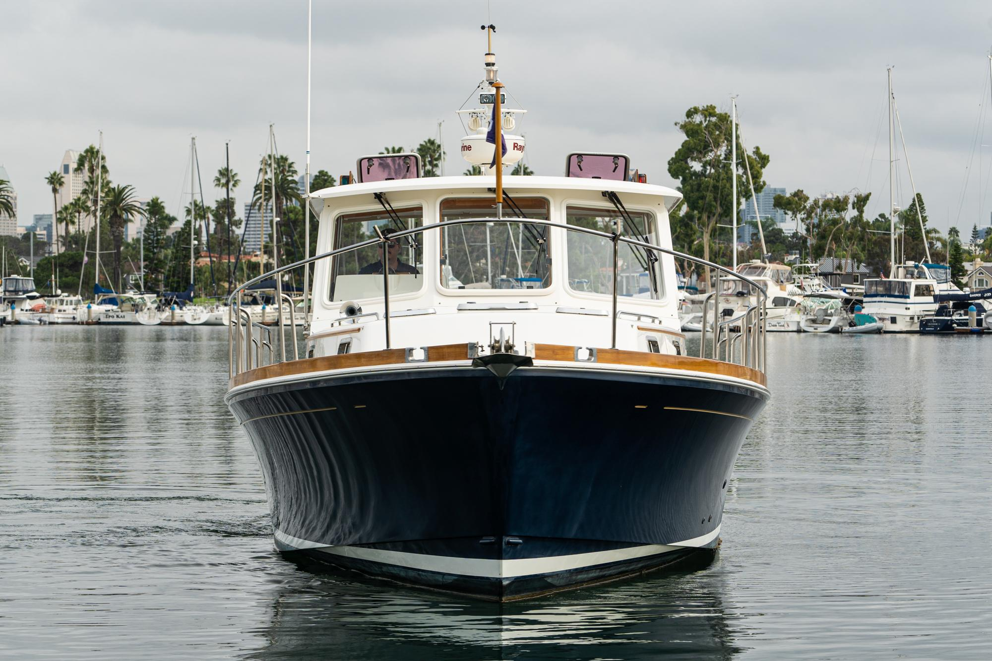2001 Grand Banks 38 Eastbay HX #TB0105RM inventory image at Sun Country Coastal in San Diego