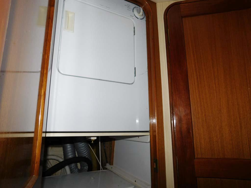 Washer and Dryer in Hallway