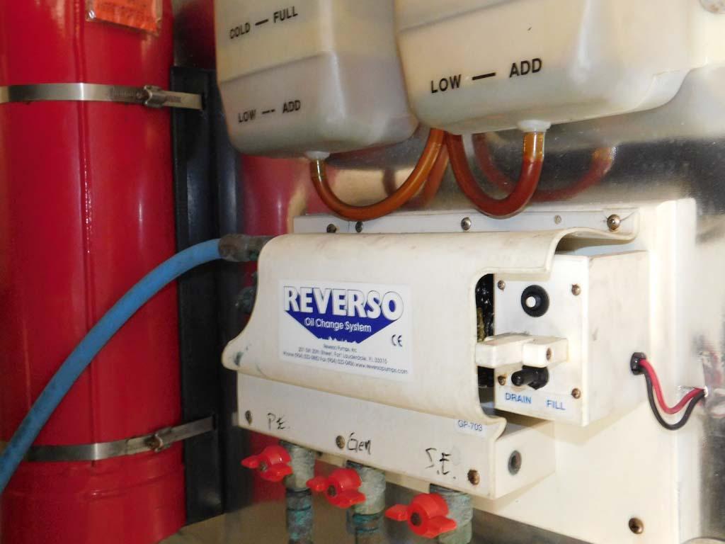 Engine Room - Reverso Fuel Transfer Pump