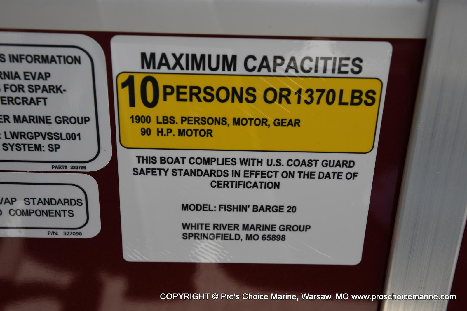 2021 Sun Tracker boat for sale, model of the boat is Fishin' Barge 20 DLX & Image # 5 of 50