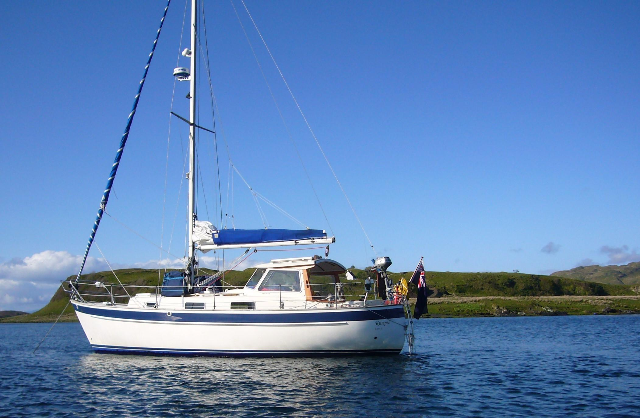 Hallberg-Rassy 94 Kutter for sale