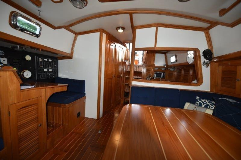 Interior - looking aft