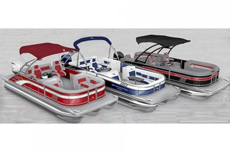 2021 Bennington boat for sale, model of the boat is 24 LXSR Tri-Toon SPS Package & Image # 1 of 2