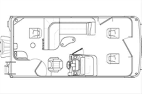 2021 Bennington boat for sale, model of the boat is 20 SVF & Image # 20 of 24