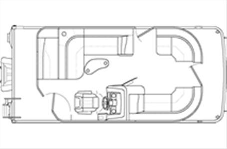2021 Bennington boat for sale, model of the boat is 20 SLX & Image # 11 of 21