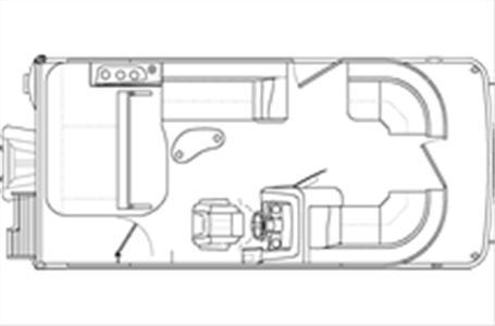 2021 Bennington boat for sale, model of the boat is 20 SSBX & Image # 18 of 21