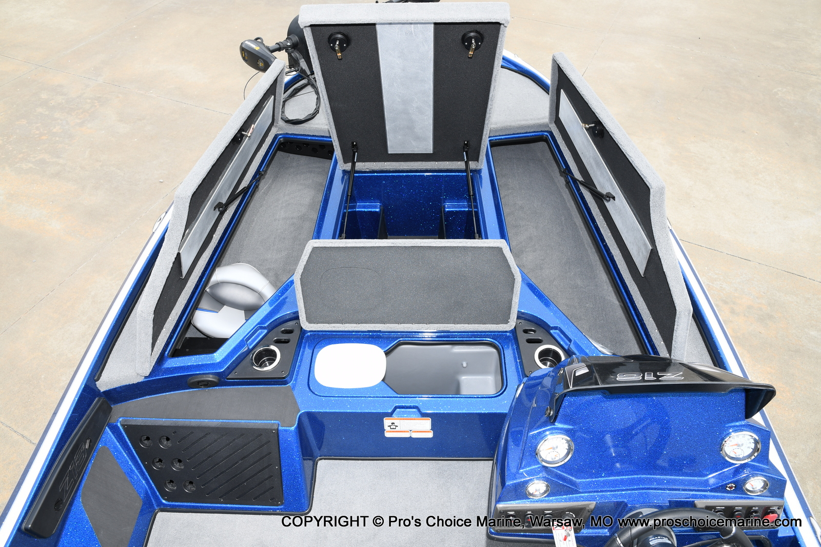 2021 Nitro boat for sale, model of the boat is Z18 & Image # 10 of 50