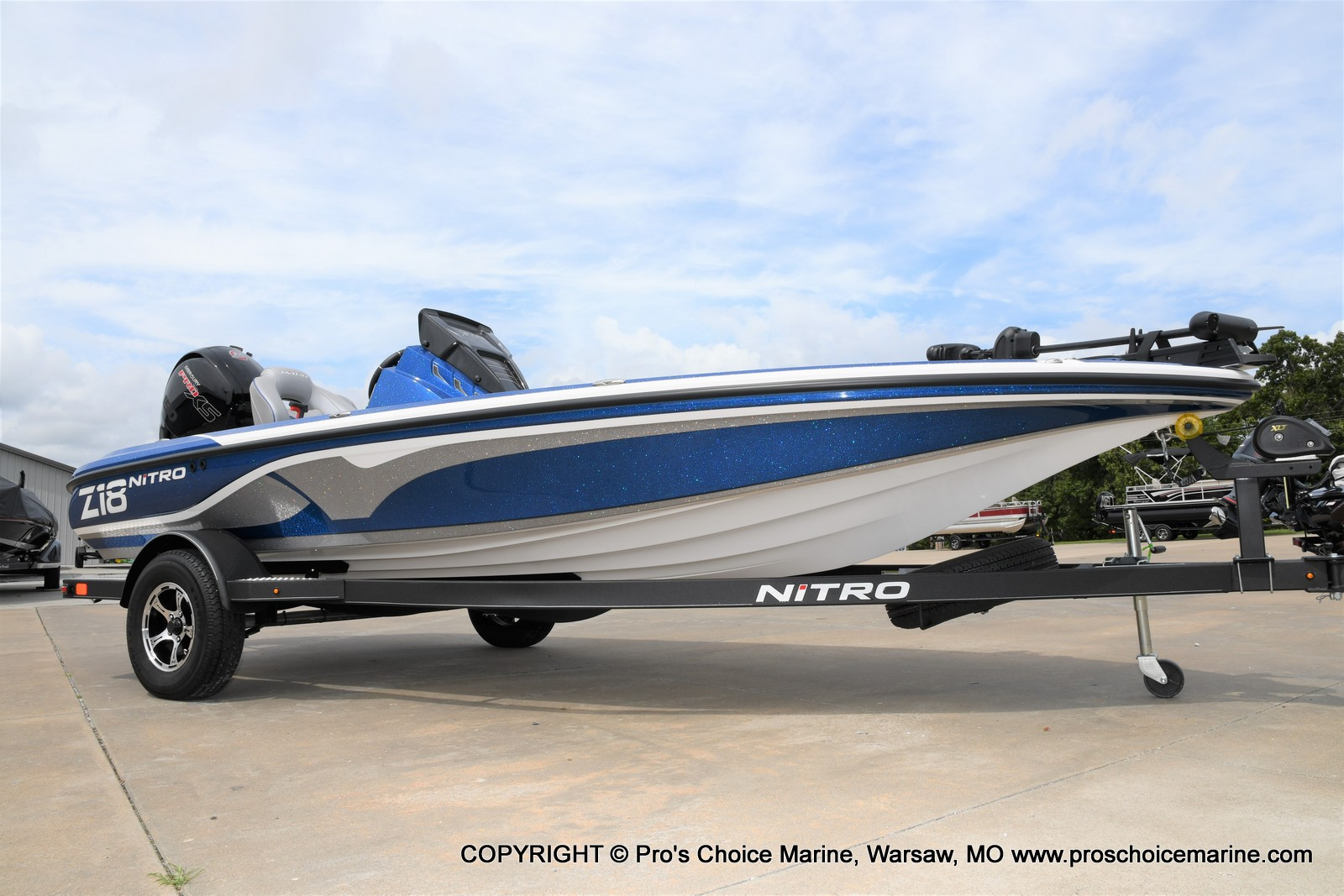 2021 Nitro boat for sale, model of the boat is Z18 & Image # 14 of 50